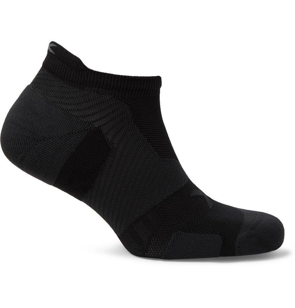 Photo: 2XU - Vectr Cushioned Stretch-Nylon No-Show Socks - Black