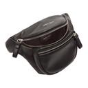 Giorgio Armani Black Leather Sling Bag