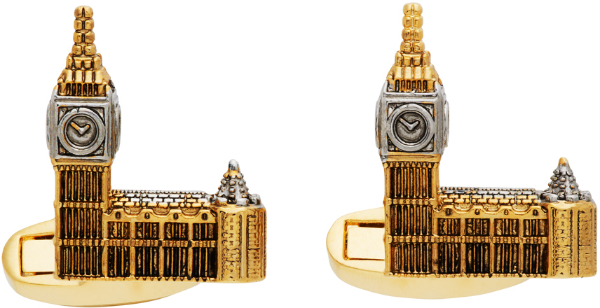 Photo: Paul Smith Gold 'London Souvenir' Cufflinks