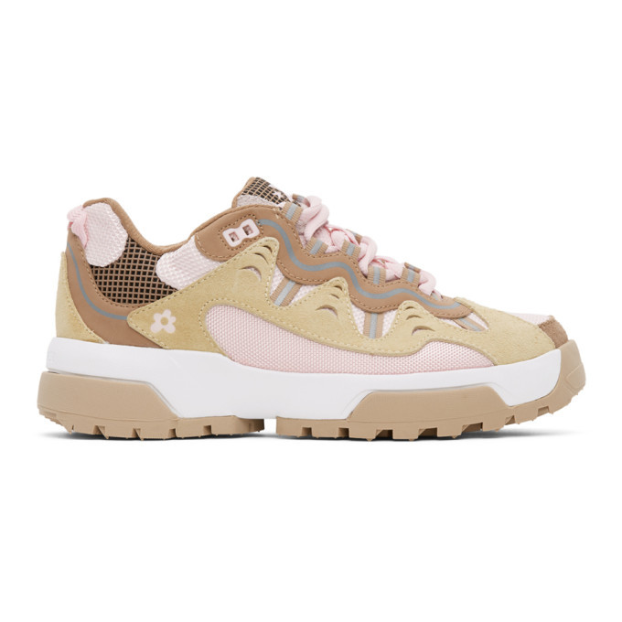 Photo: Converse Pink and Brown Golf Le Fleur* Gianno Sneakers