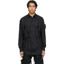 Raf Simons Black Pockets and Straps Shirt