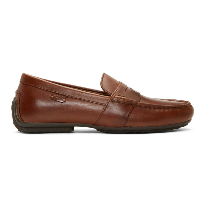 Photo: Polo Ralph Lauren Brown Reynold Loafers