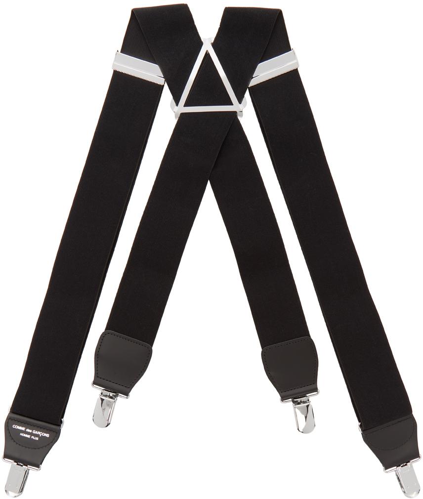 Photo: Comme des Garçons Homme Plus Black Webbing Suspenders