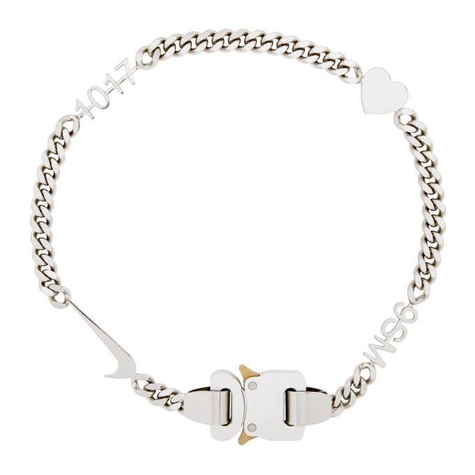 1017 ALYX 9SM Silver Hero Chain
