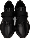 Dunhill Black Aerial Strap Runner Sneakers
