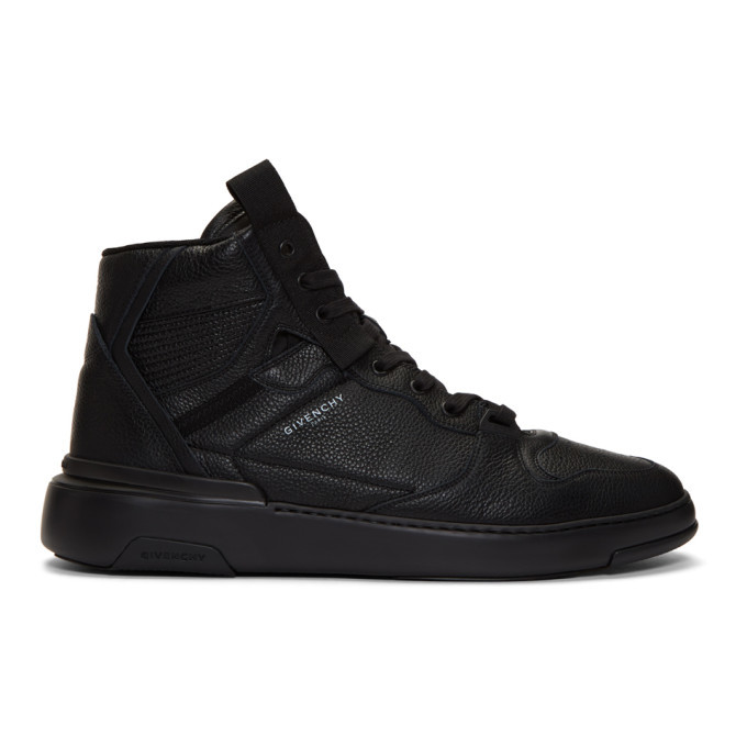 Photo: Givenchy Black Wing Sneakers