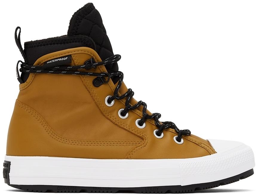 Photo: Converse Tan All Terrain Chuck Taylor All Star High Sneakers