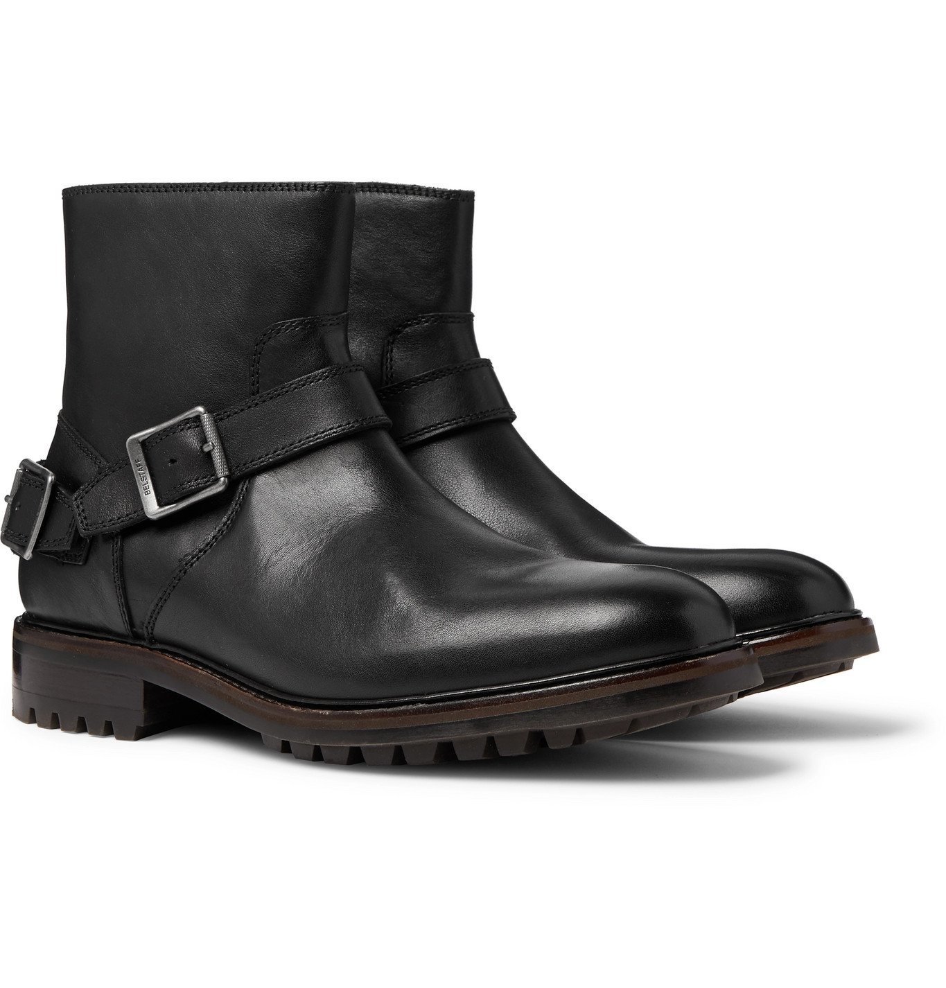 Photo: Belstaff - Trialmaster Leather Boots - Black