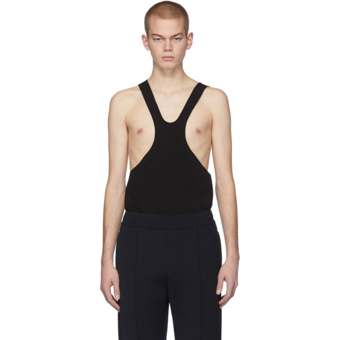 Photo: Bottega Veneta Black Scuba Tank Top
