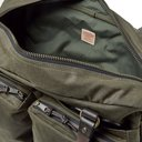 Filson - 48-Hour Leather-Trimmed Tin Cloth Duffle Bag - Green