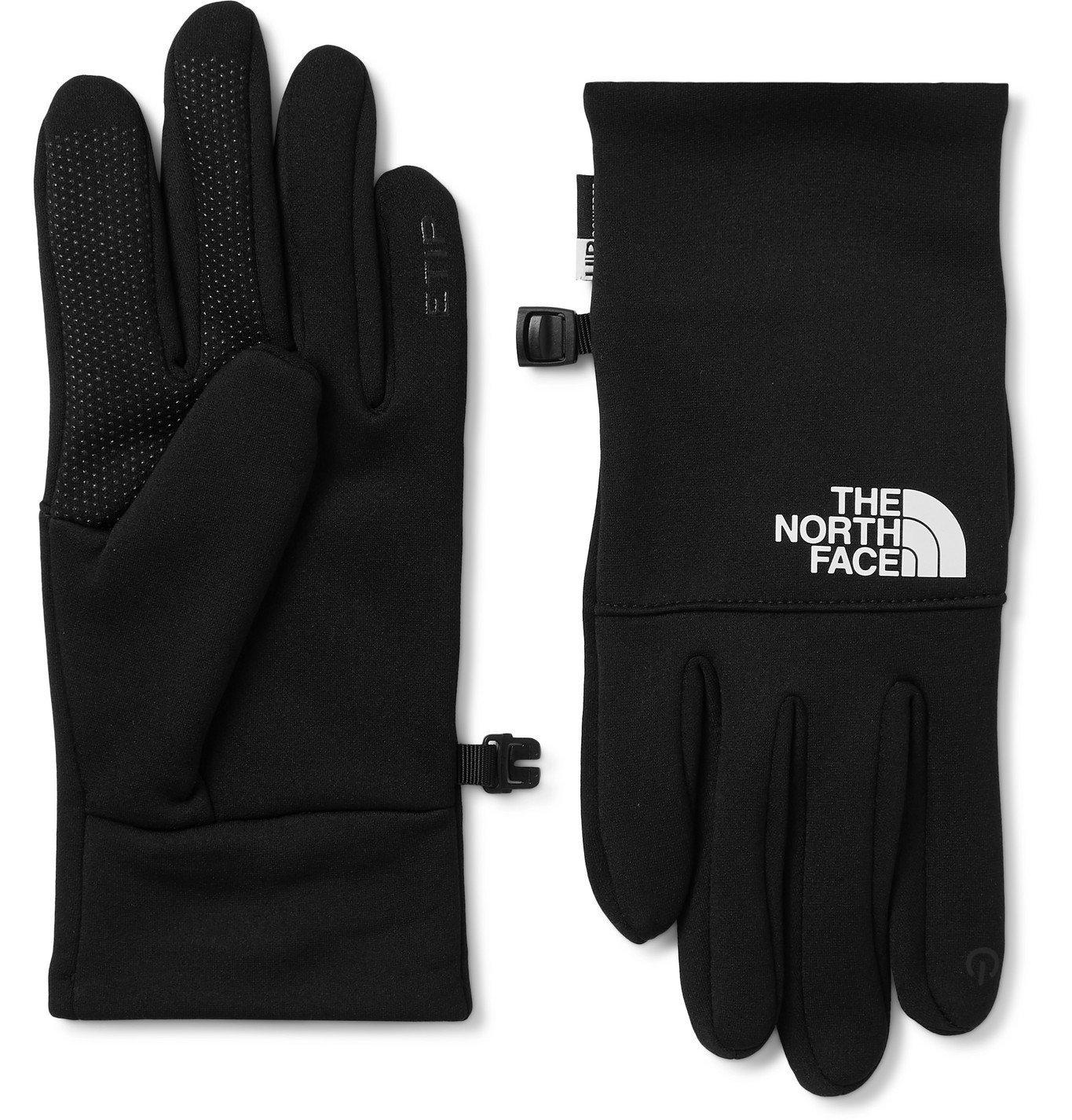 Photo: The North Face - Etip Logo-Print Ponte Gloves - Black
