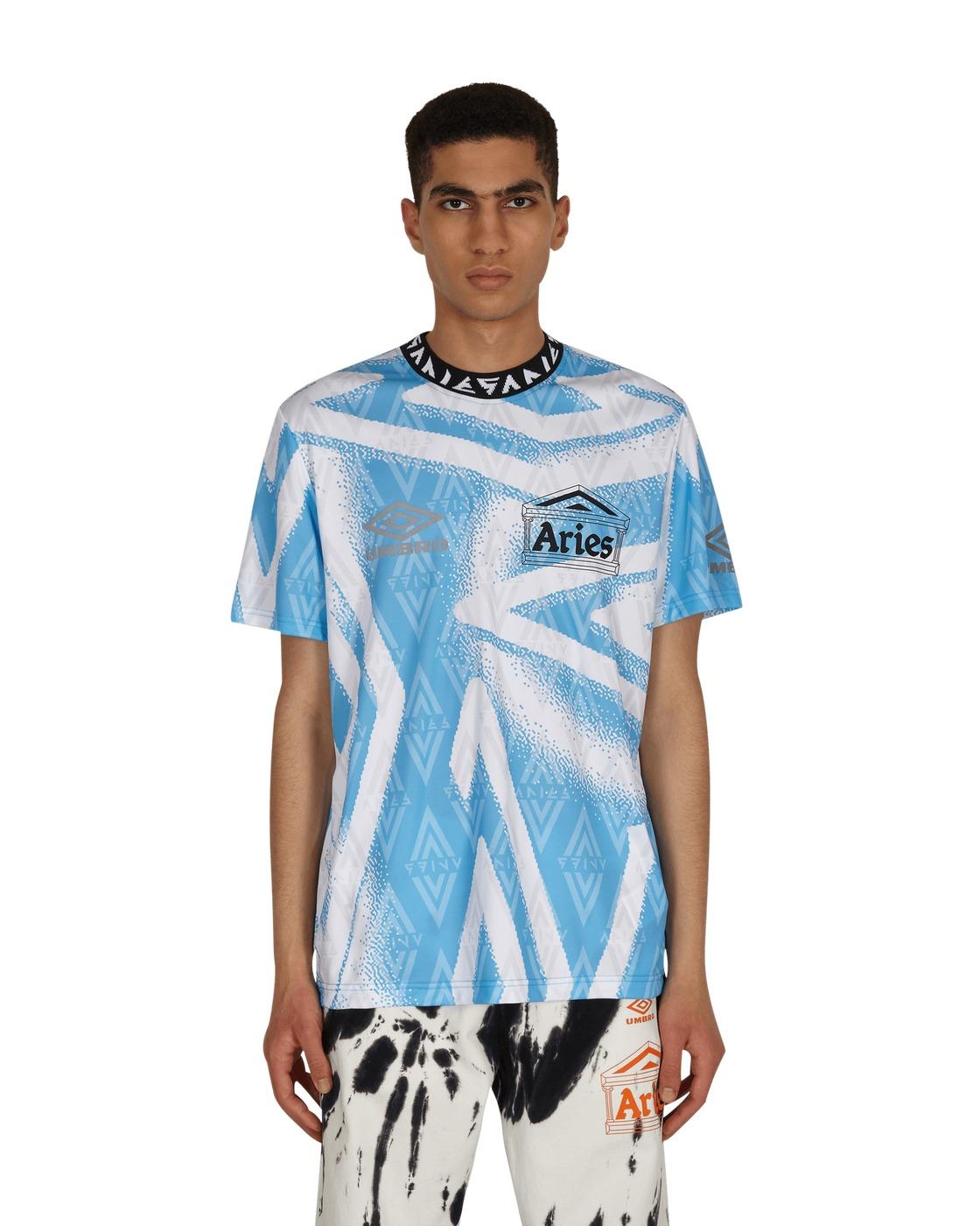 Aries Umbro Football Jersey Blue/White