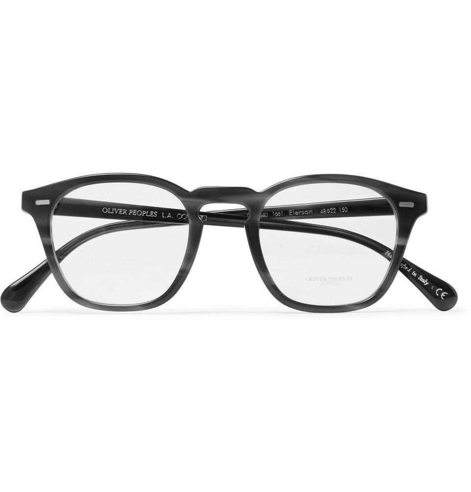 Oliver Peoples - Ellerson D-Frame Acetate Optical Glasses - Tortoiseshell