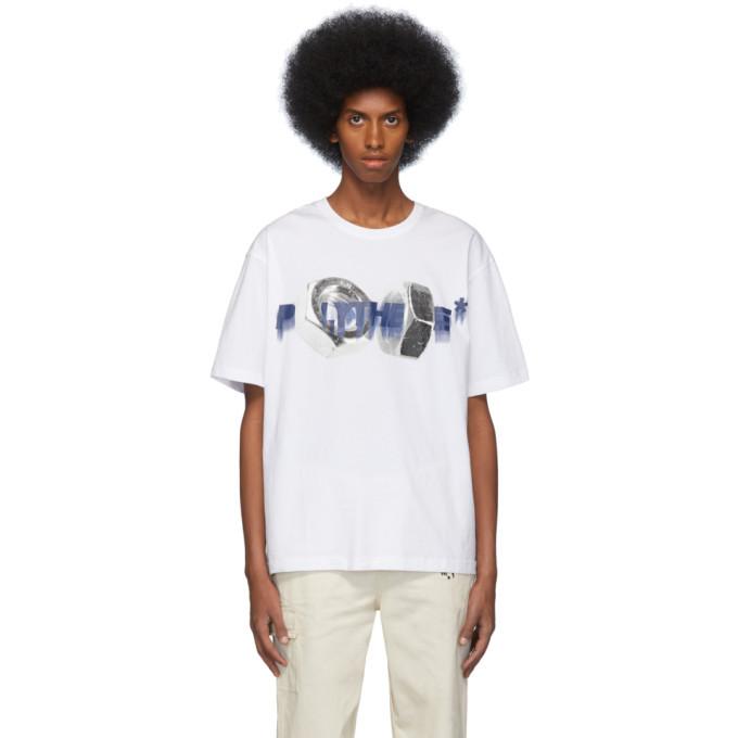 Photo: Polythene* Optics White Bolt Print T-Shirt