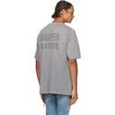 Ksubi Grey Super Ghost T-Shirt