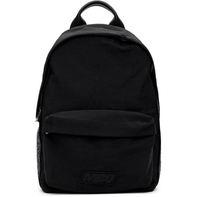 Photo: McQ Alexander McQueen Black Classic Backpack
