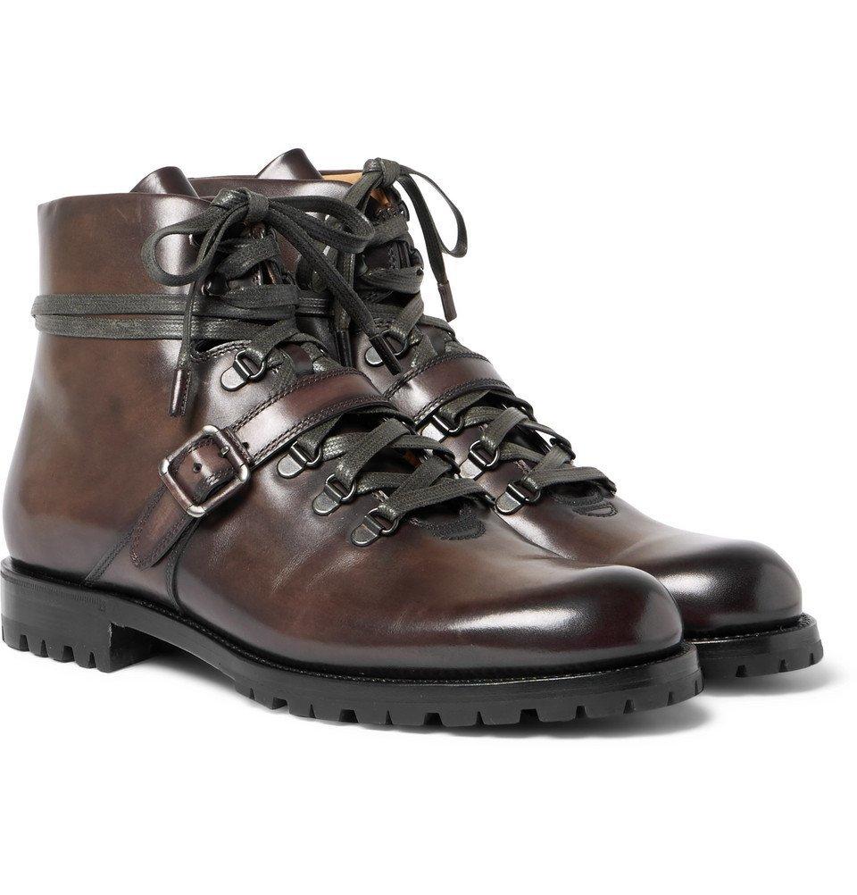 Photo: Berluti - Brunico Leather Boots - Chocolate