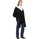 Raf Simons Black Classic Oversized V-Neck Sweater