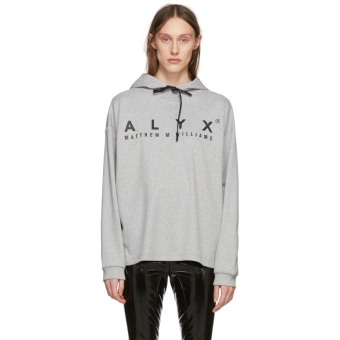 Alyx Grey T-Shirt Hoodie