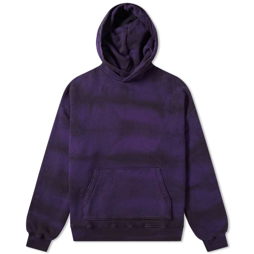Photo: AMIRI Shotgun Tie Dye Oversized Hoodie Purple