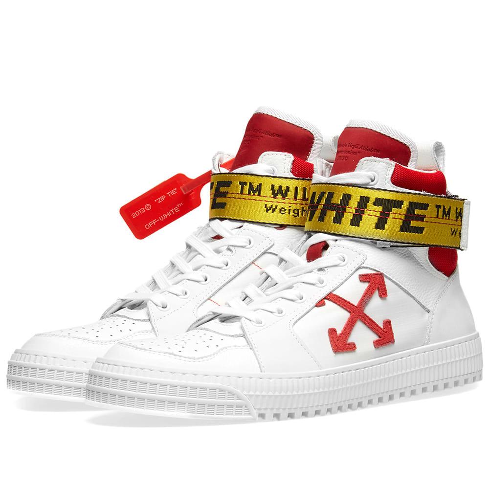 Photo: Off-White Industrial Belt Hi Top Sneaker