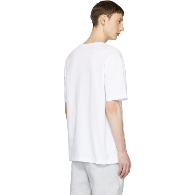 6ec88efe7d41 Champion Reverse Weave White Deconstructed T-Shirt Champion Reverse ...