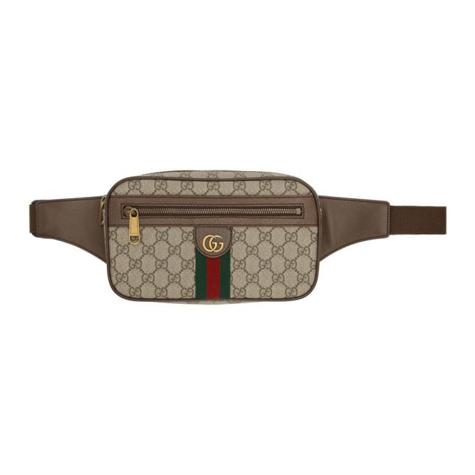 Photo: Gucci Beige Ophidia GG Belt Bag