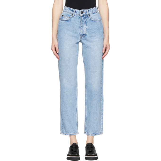 Won Hundred Blue Pearl Trash Jeans