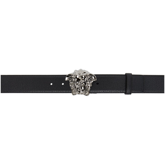 Photo: Versace Black Medusa Palazzo Belt