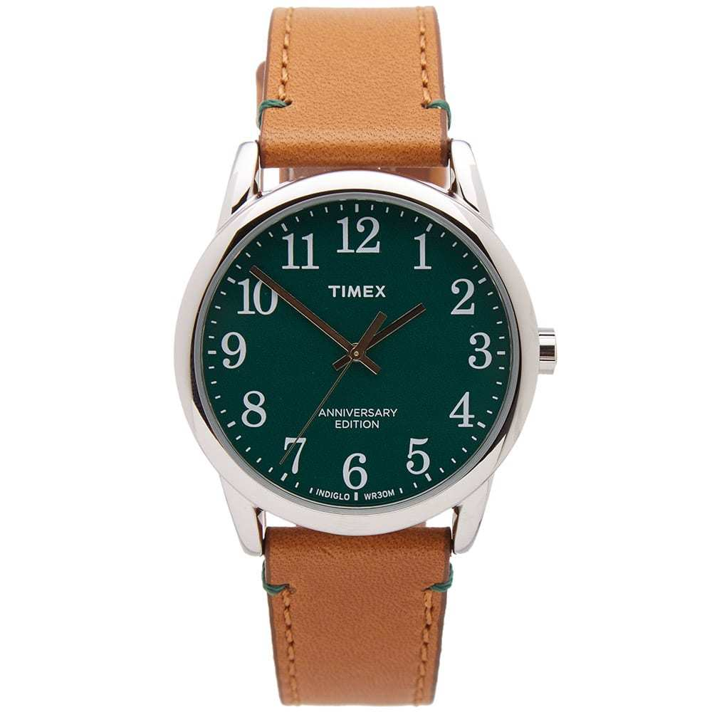 Photo: Timex x Horween Easy Reader 40th Anniversary Special