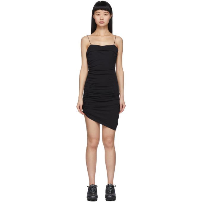 alexanderwang.t Black Compact Jersey Mini Dress