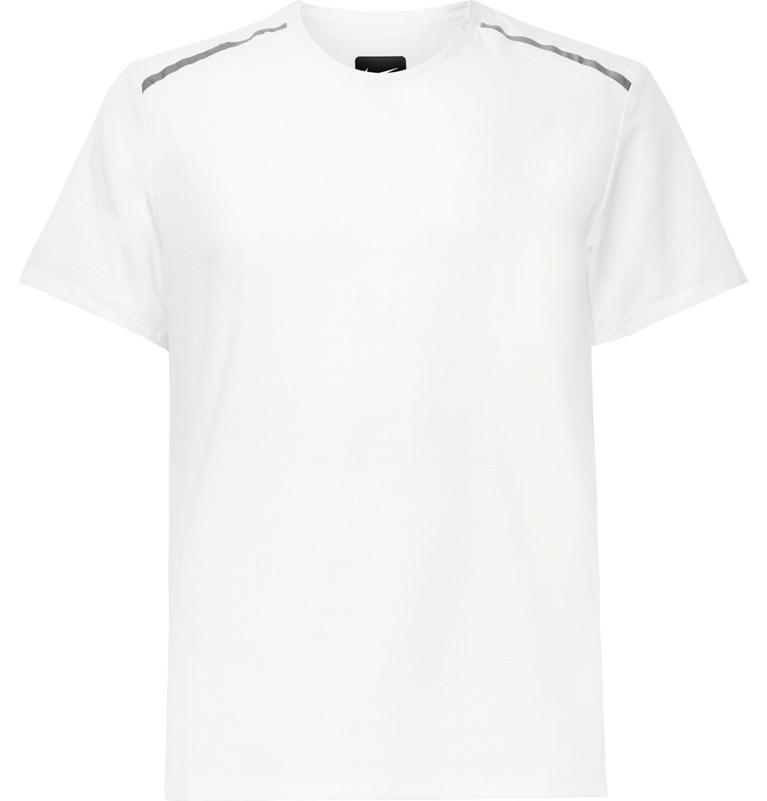 Nike Running - Tech Pack Stretch-Mesh Running T-Shirt - White