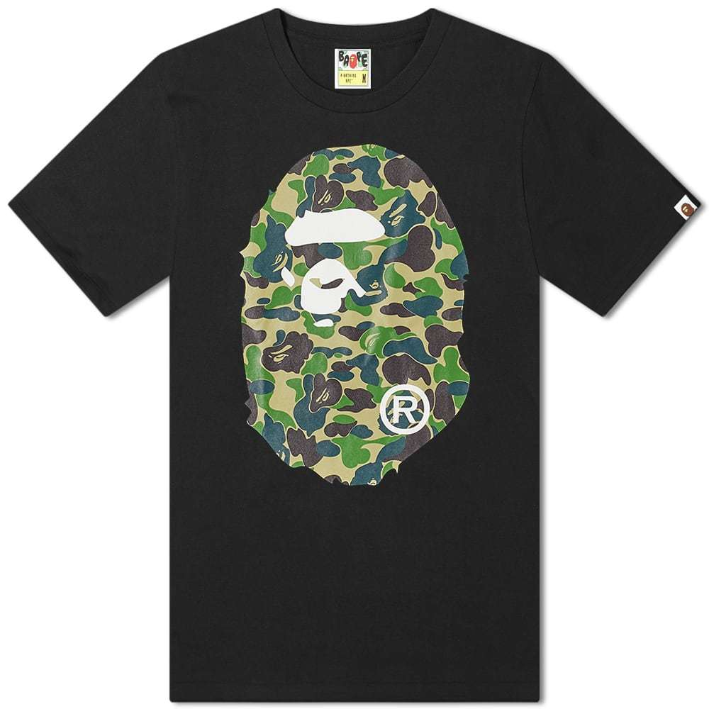 A Bathing Ape ABC Big Ape Head Tee
