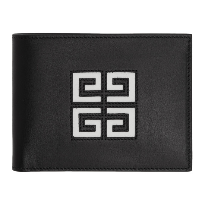 Photo: Givenchy Black Cut-Out 4G Wallet