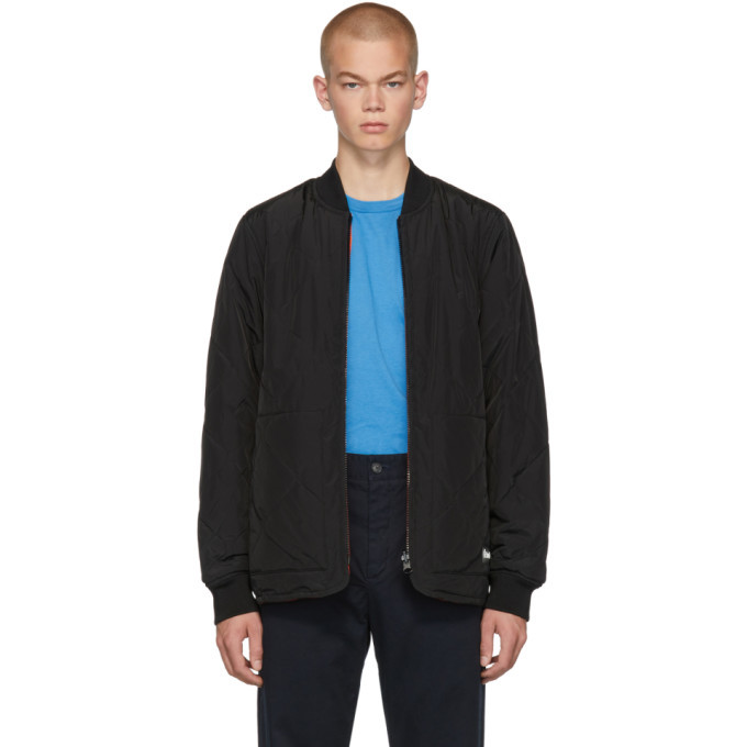 Photo: Etudes Reversible Black Liner Jacket