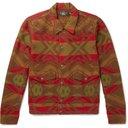 RRL - Ralston Cotton and Wool-Blend Jacquard Shirt Jacket - Men - Tan