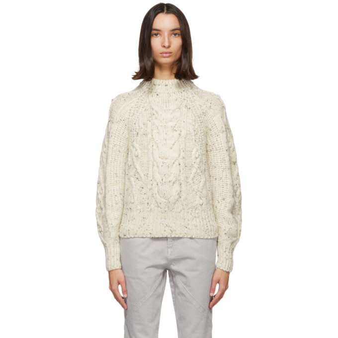 Photo: Isabel Marant Beige Flover Sweater