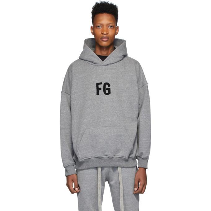 Photo: Fear of God Grey FG Everyday Hoodie