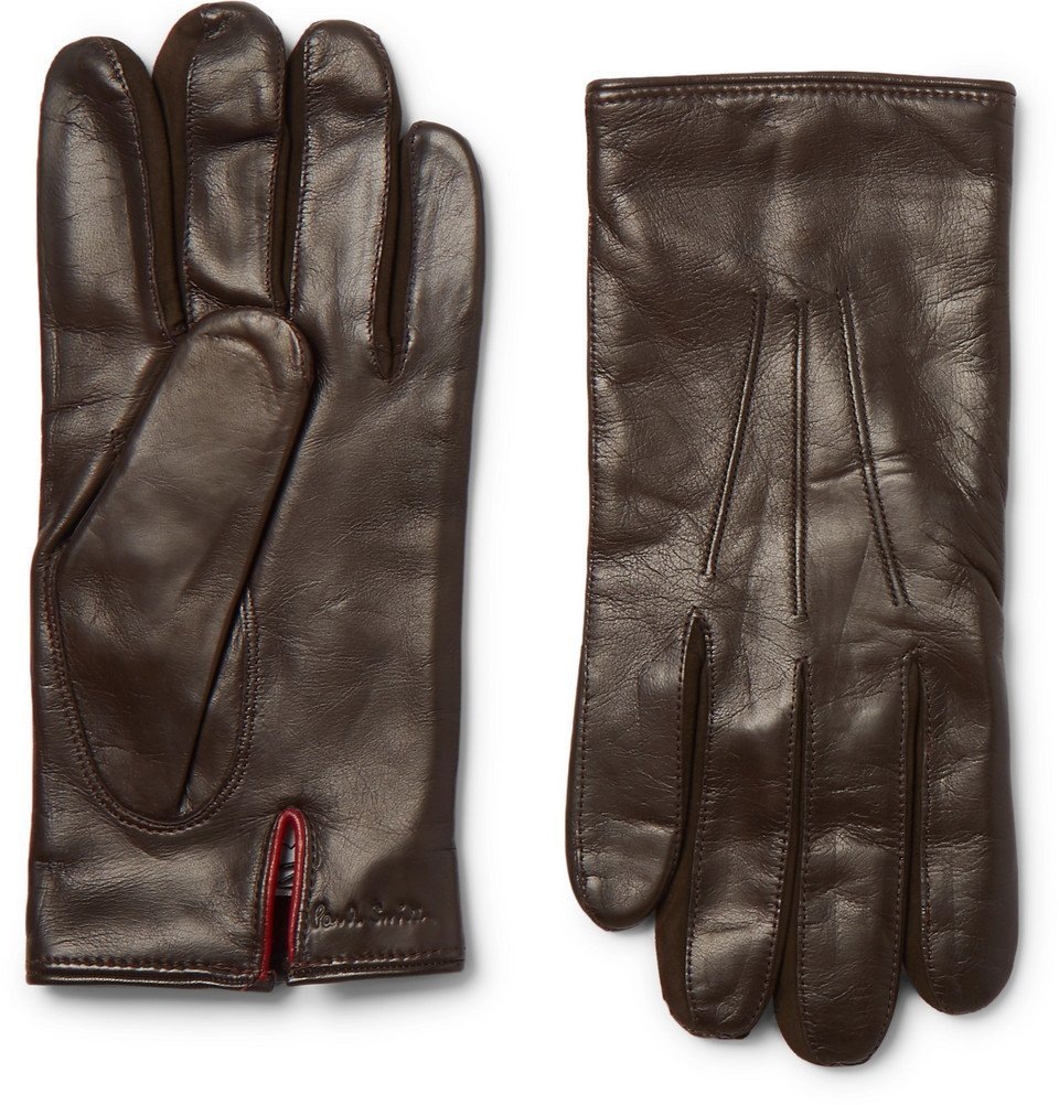 Photo: Paul Smith - Leather Gloves - Brown