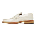 Martine Rose Beige Pearlised Roxy Loafers