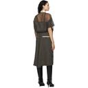 Sacai Beige Suiting Combo Dress