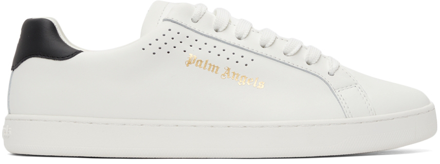 Photo: Palm Angels White New Tennis Sneakers