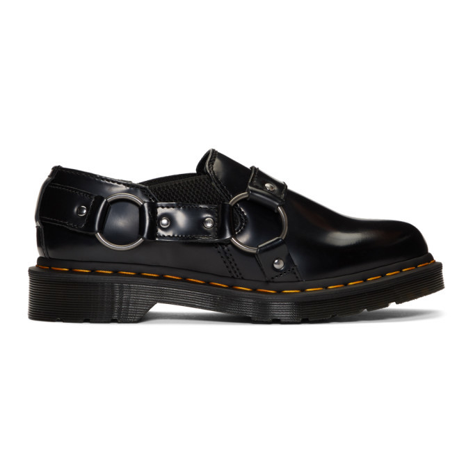 Photo: Dr. Martens Black Gilbey Buckle Loafers