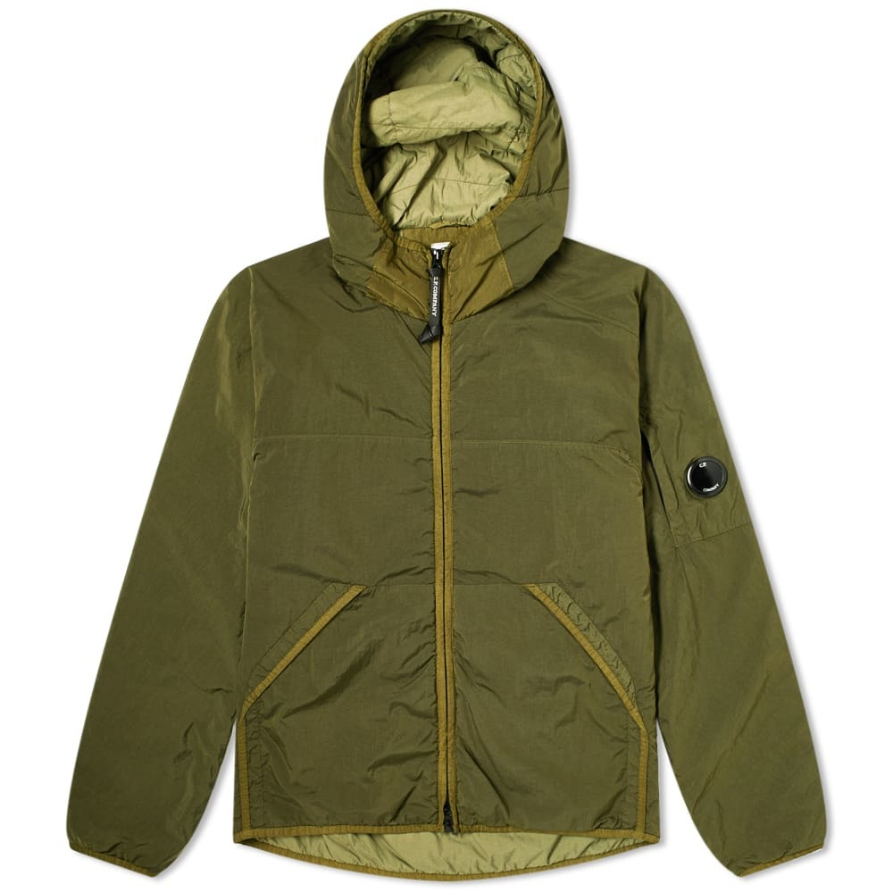 Photo: C.P. Company Insulated Midweight Nylon Hooded Jacket