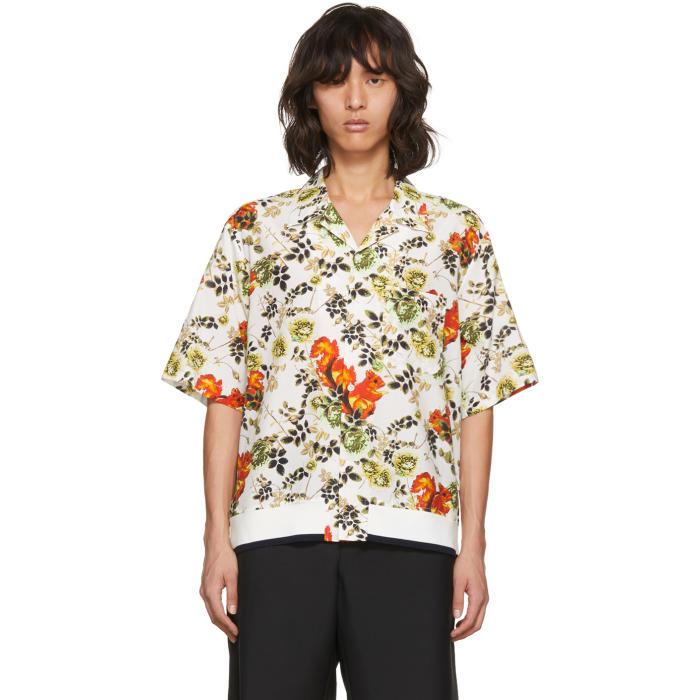 3.1 Phillip Lim Multicolor Surreal Animal Souvenir Shirt