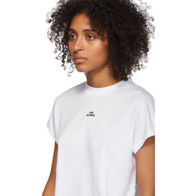 Won Hundred White Proof Logo T-Shirt