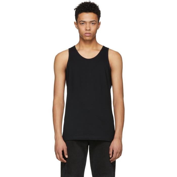 Photo: Comme des Garçons Shirt Black Basic Tank Top