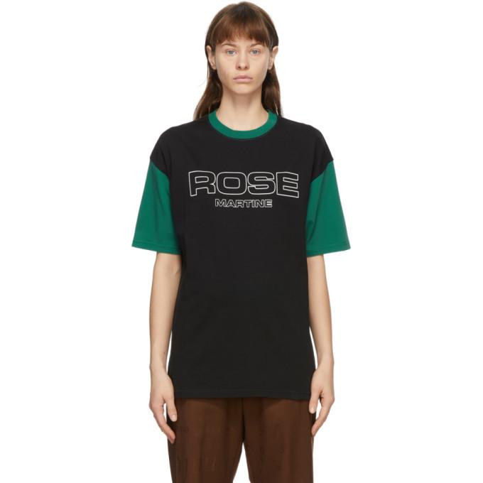Photo: Martine Rose Black and Green Berghain T-Shirt