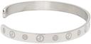 Giorgio Armani Silver Bangle Bracelet