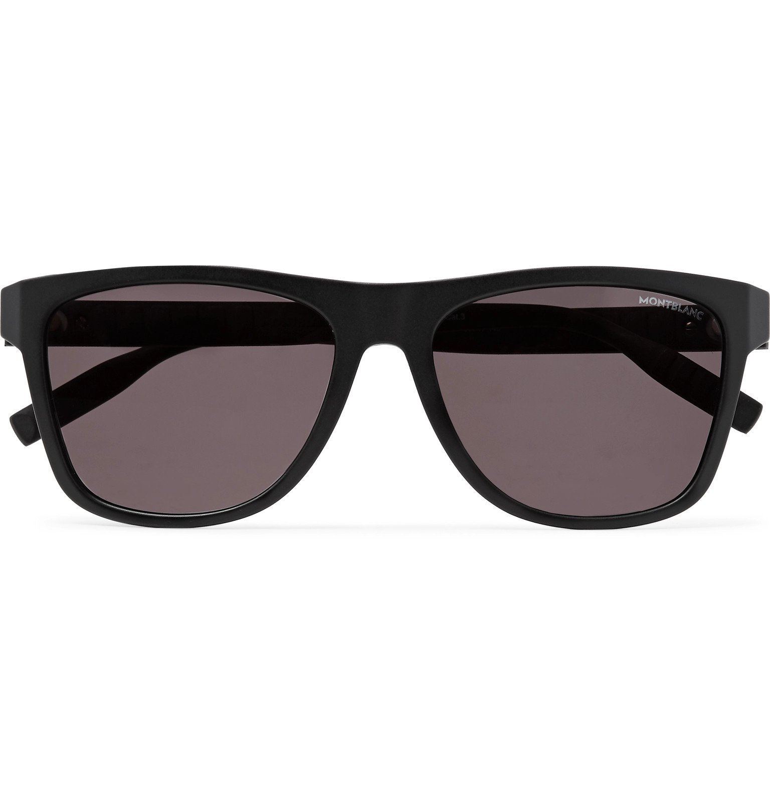 Photo: Montblanc - D-Frame Acetate Sunglasses - Black